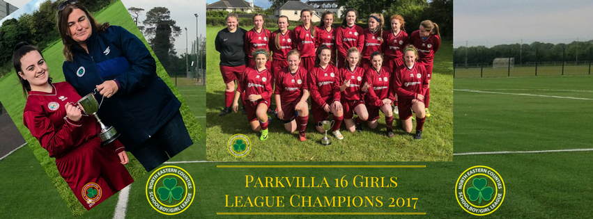 16 Girls League Champions 2017