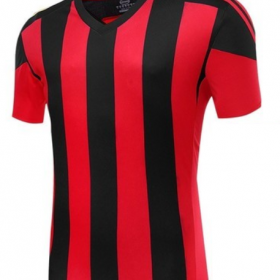 Red and Black Strips