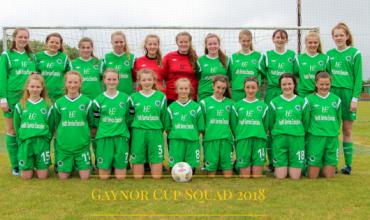 Gaynor Cup U16 2018