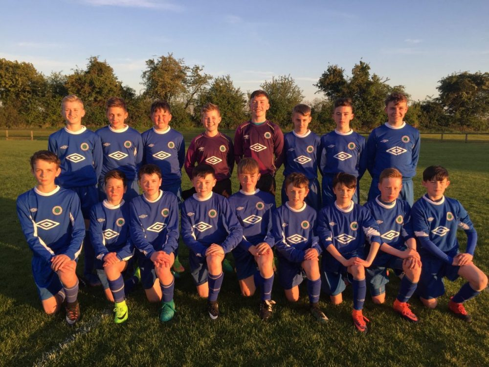 NECSL U13 Galway Cup Squad 2017