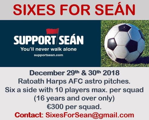 sixes for sean